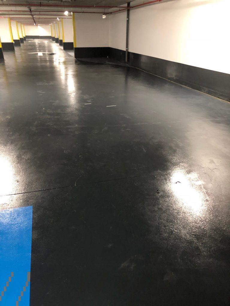 Bioman Cleaner - Nettoyage parking centre commercial Olympie Antibes - Services de nettoyage